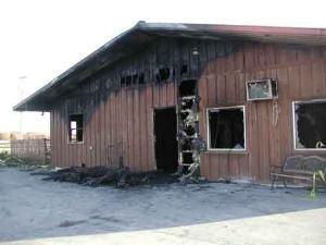 Rader Lodge Fire and Lodge History